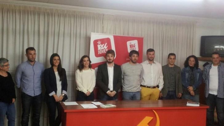 """EU de Buñol presenta una candidatura """"joven y con ganas"""""""