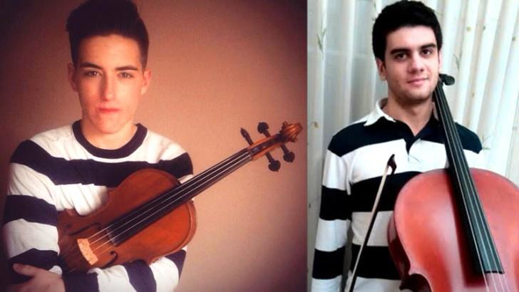 Dos jóvenes músicos de la S.M. La Artística ingresan en La JORVAL