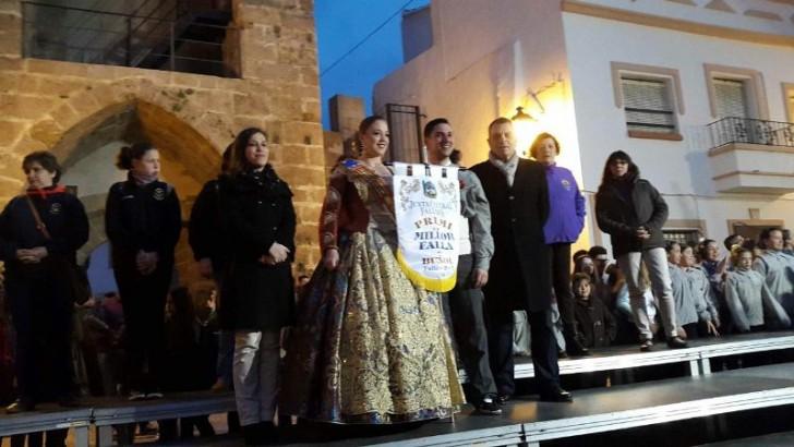 La Falla Ventas y Nuevo Buñol se llevan los primeros premios en las Fallas 2015