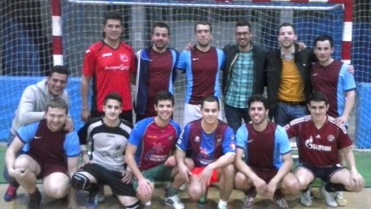 El At. Madriles, campeón de la Liga de Invierno de fútbol sala
