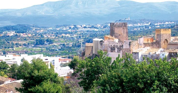 La iglesia del castillo