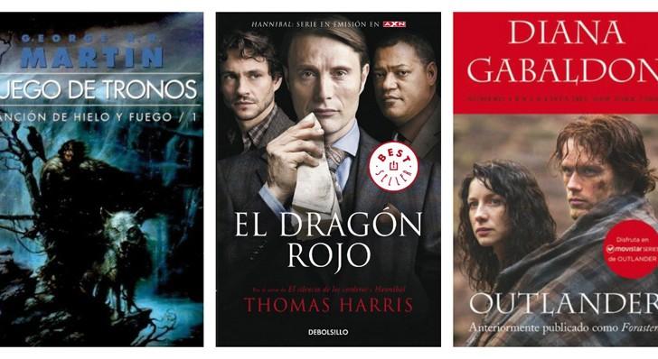 6 series basadas en libros