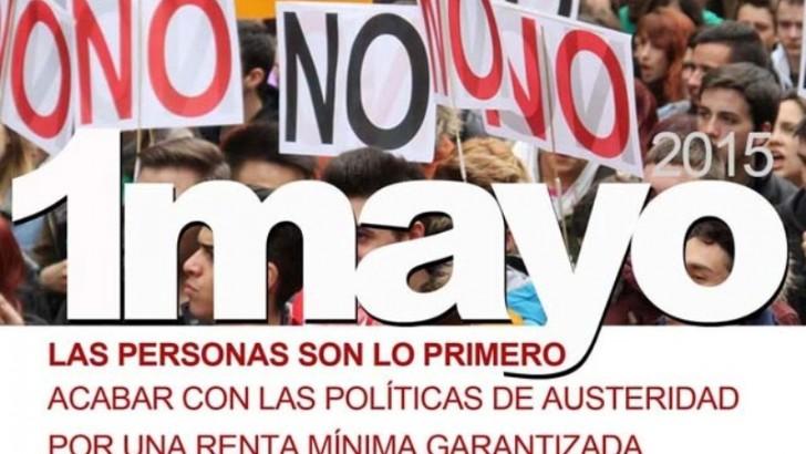 UGT Y CCOO convocan a las manifestaciones del Primero de Mayo