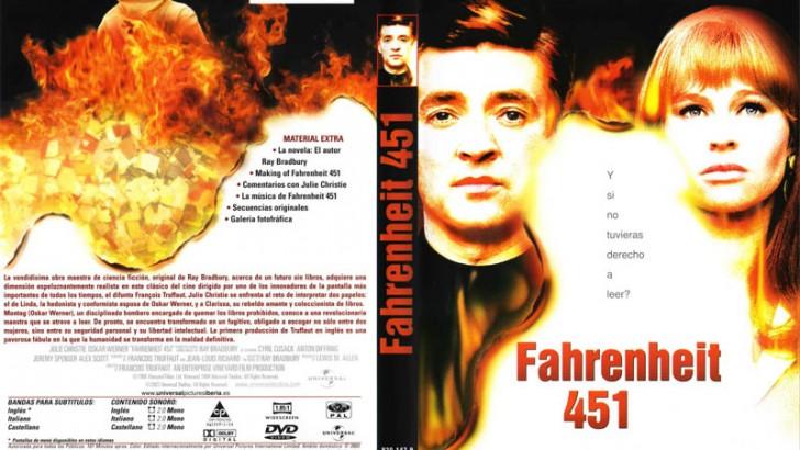 La película Fahrenheit 451, esta tarde en la biblioteca