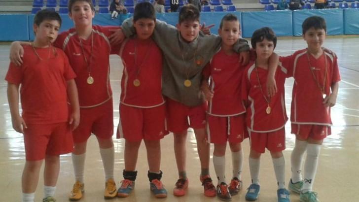 Los tres colegios de Buñol disputan un torneo de Fútbol-Sala