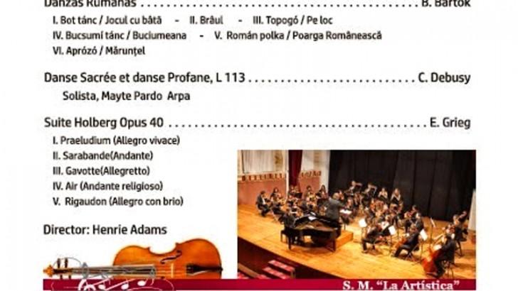 Las Orquestas de Iniciación y Cuerda de La Artística en concierto el sábado 25 de abril