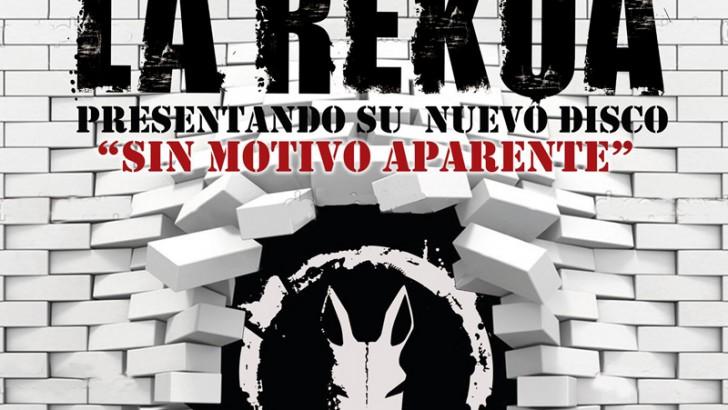 El sábado 25 de abril, La Rekua en concierto
