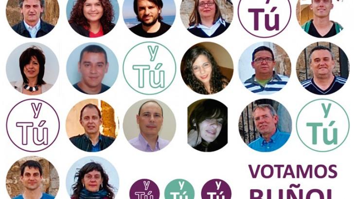 Votamos Buñol presenta su candidatura el próximo viernes