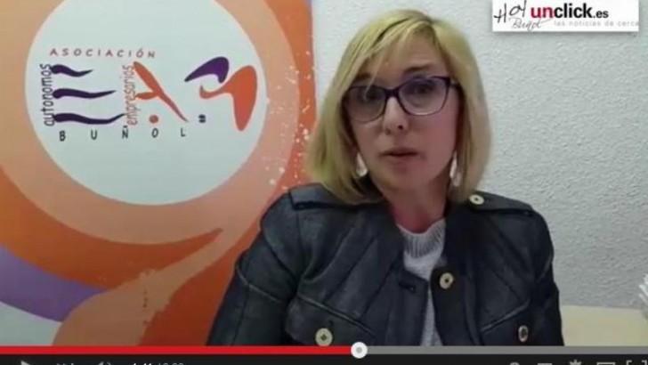 Entrevista en vídeo a Julia Martínez sobre la 10ª Feria del Comercio y Turismo de Buñol