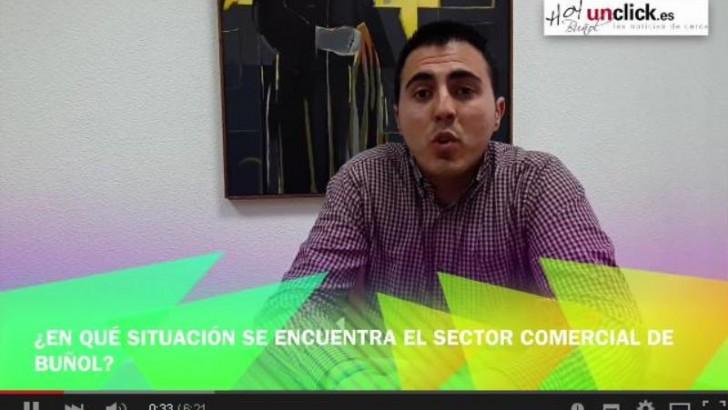 Entrevista en vídeo a Manuel Sierra sobre la 10ª Feria del Comercio y Turismo de Buñol