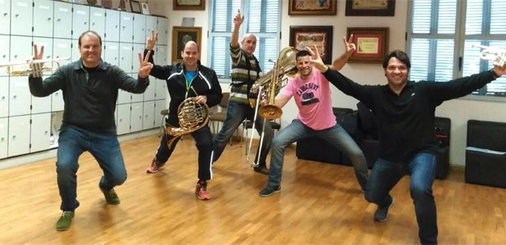 Arts Off Brass Valencia presenta hoy en el Palacio de la Música Carmen Alla Brass