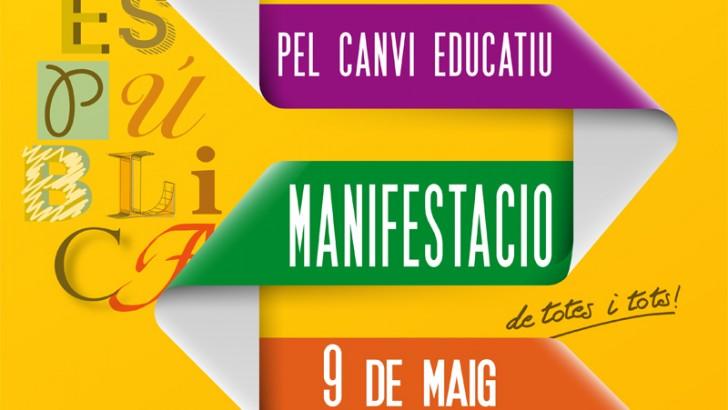 """El sábado en Valencia a las 18 h. manifestación """"Por un cambio educativo"""""""