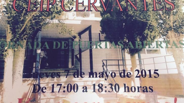 Jornada de puertas abiertas en el CEIP Cervantes