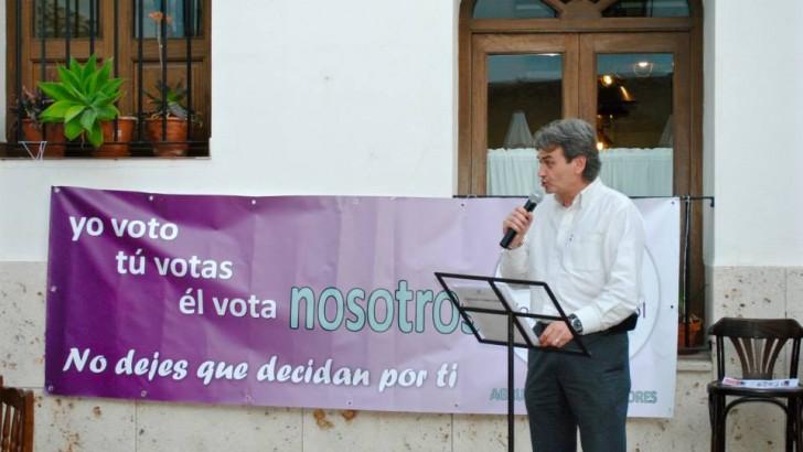 Votamos Buñol comparte con las asociaciones su idea de participación ciudadana
