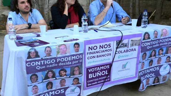 Votamos Buñol convoca una Asamblea Ciudadana Abierta el próximo jueves 4 de junio