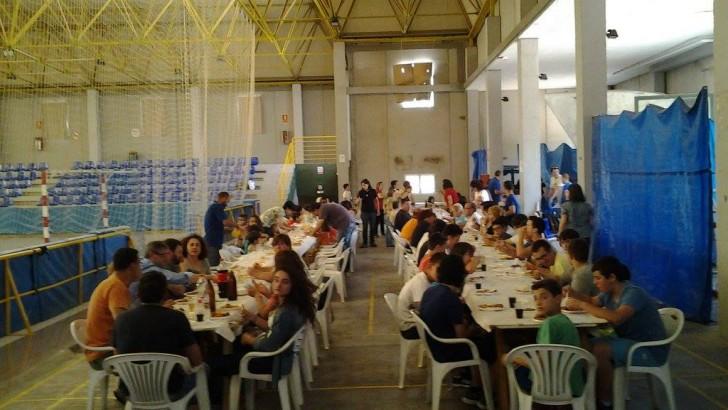 Las imágenes de la comida de fin de temporada del Club Balonmano Buñol