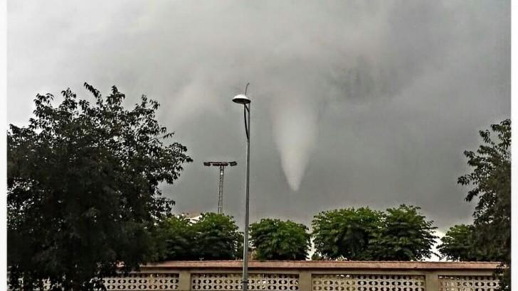 Las imágenes de la tormenta de ayer en Buñol