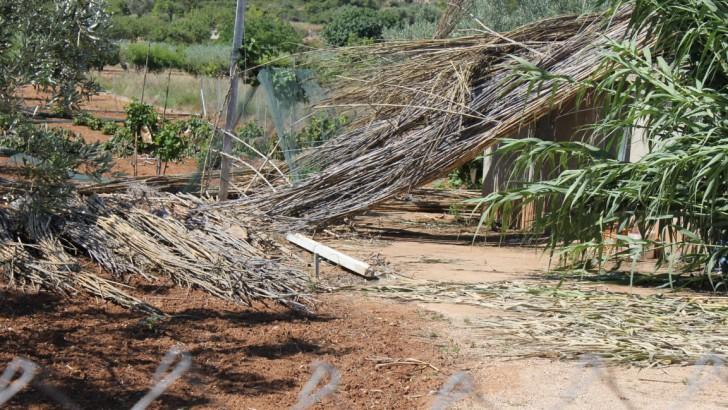 El tornado del pasado lunes tocó suelo en Buñol