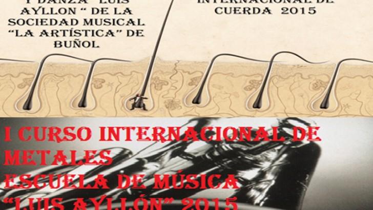 La S.M. La Artística de Buñol organiza los primeros cursos internacionales de música
