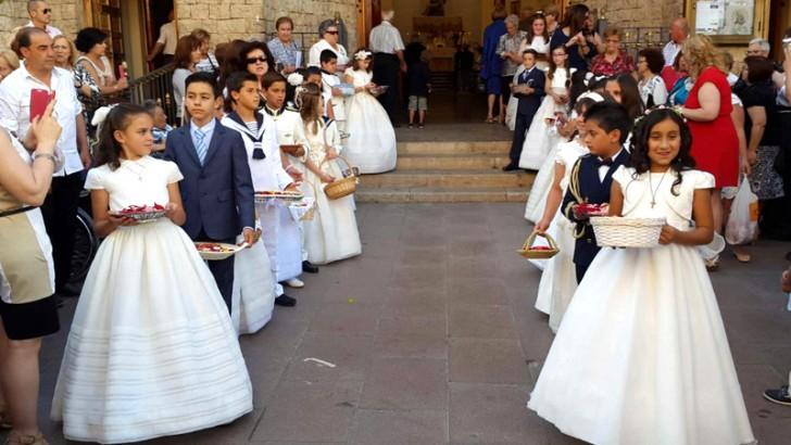 Las imágenes de la procesión del Corpus en Buñol