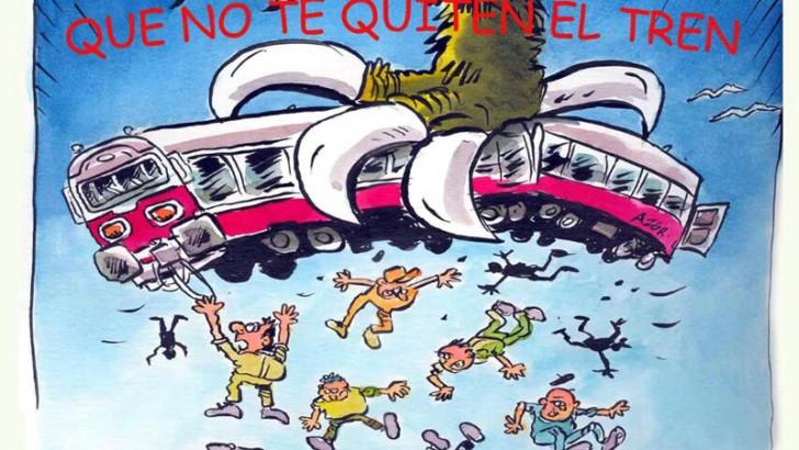La Biblioteca de Buñol acoge este jueves una conferencia sobre la privatización del ferrocarril