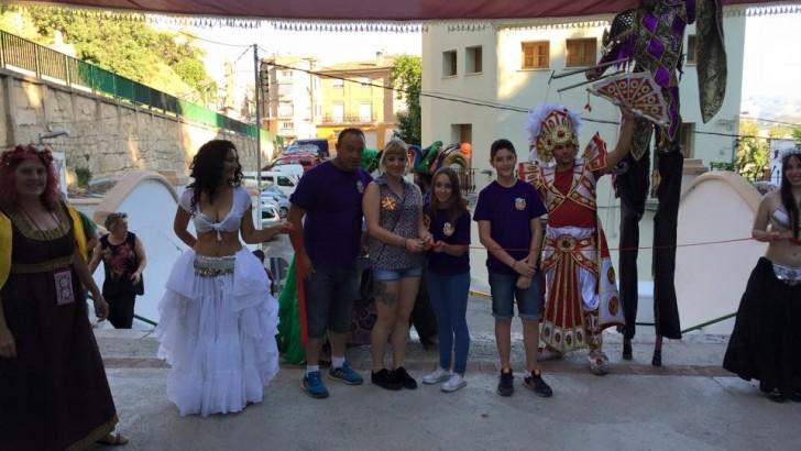 Rotundo éxito del Mercado Medieval en Buñol