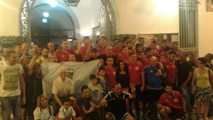 Las imágenes del ascenso del Club Deportivo Buñol
