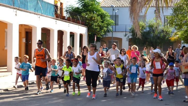 El alumnado del Cervantes disfruta del VII Maratón Solidario