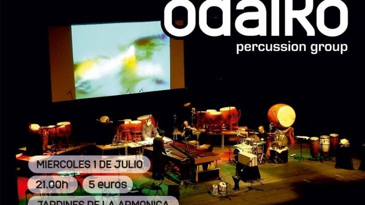 """El cuarteto de percusión Odaiko ofrece un concierto este miércoles en los Jardines de """"La Armónica"""" de Buñol"""
