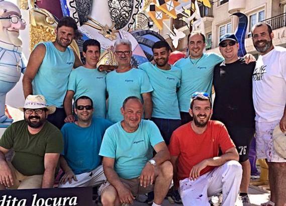 La Hoguera pintada por el buñolense Antonio López logra el primer premio en Alicante
