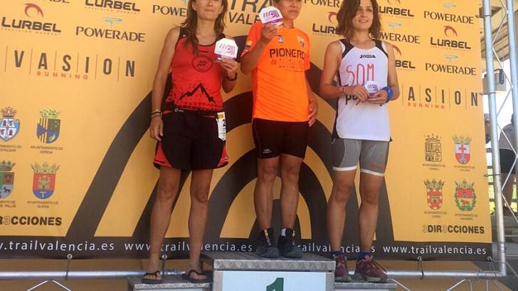 Otro podio en el Trail de Quesa