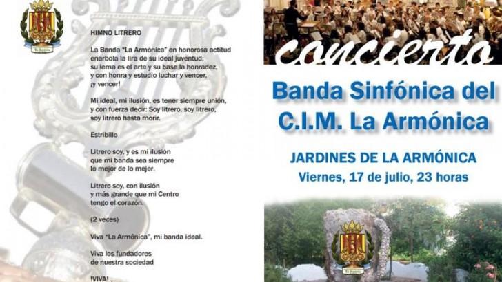 """Concierto de """"La Armónica"""" de Buñol este viernes en Viachén"""