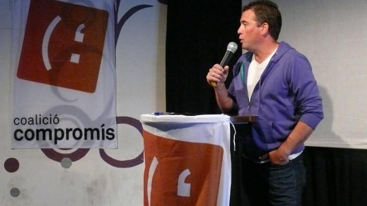 Emilio Morales (Compromís) investido como nuevo alcalde de Chiva