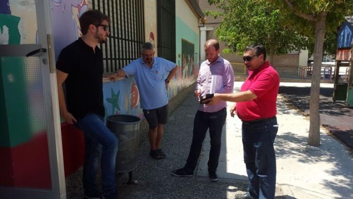 Buñol estudia las obras de acondicionamiento que acometerá en los colegios de la localidad