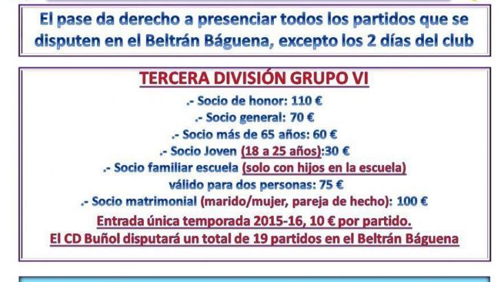 El CD Buñol celebra su Junta General para analizar el ascenso a Tercera