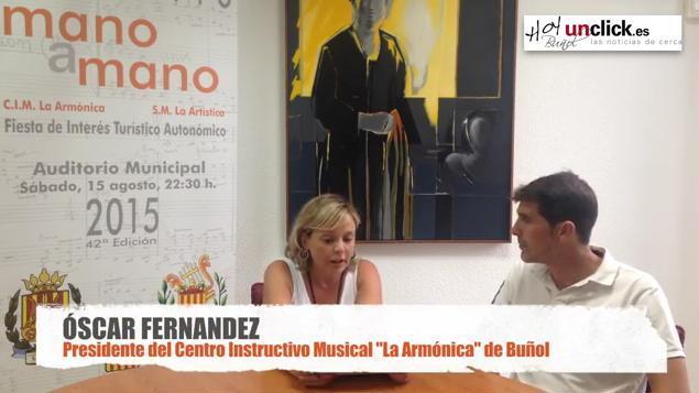 """Entrevista en vídeo al Presidente del C.I.M. """"La Armónica"""" de Buñol sobre el """"Mano a Mano"""""""
