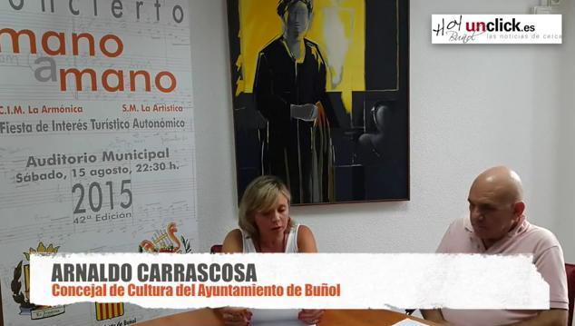 """Entrevista en vídeo al Concejal de Cultura de Buñol sobre el """"Mano a Mano"""""""