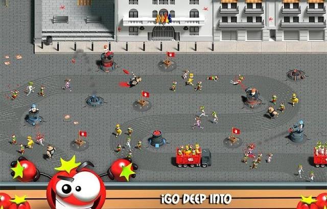 """Crean el juego de """"La Tomatina"""" de Buñol para smartphone"""