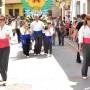 """La Ofrenda de """"El Litro"""" en Buñol"""