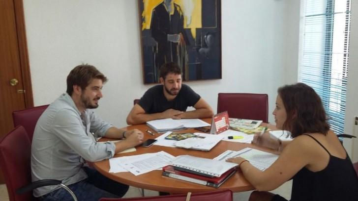 """Los tres ediles de EU de Buñol mantendrán reuniones periódicas """"para coordinar y establecer criterios de trabajo comunes"""""""