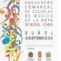 El Programa de actividades del XV Encuentro Comarcal de Escuelas de Música en Buñol