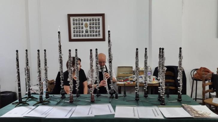 Las imágenes del Primer Concurso Nacional de Oboe celebrado en Buñol
