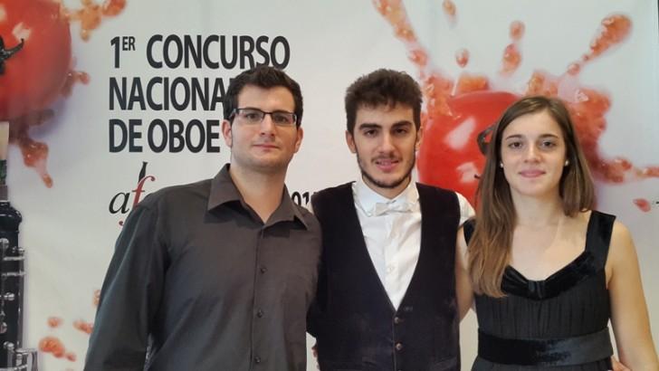 Luis Auñón vence en el Primer Concurso Nacional de Oboe celebrado en Buñol