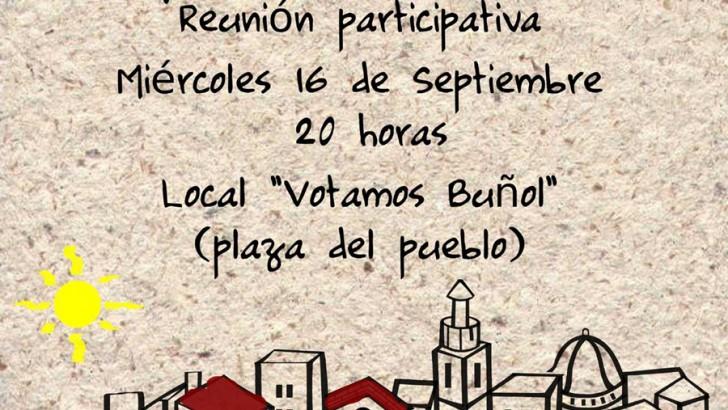 """""""Buñol, te quiero bonico"""", el miércoles en la sede de Votamos Buñol"""