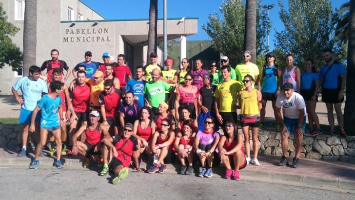 Casi 50 corredores completan el entrenamiento oficial del I Sprint-Trail de Buñol