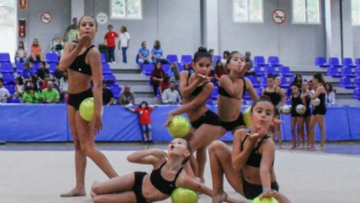 Las imágenes de la presentación del Club de Gimnasia Rítmica de Buñol