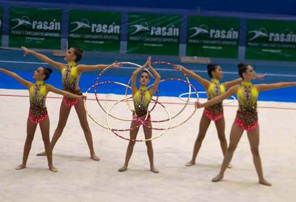 Las prebenjamines de gimnasia rítmica, clasificadas para el campeonato de España