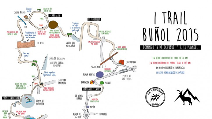 ¿Dónde puedo ver el I Trail de Buñol?