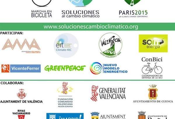 La marcha en bici contra el cambio climático pasará este viernes por Buñol