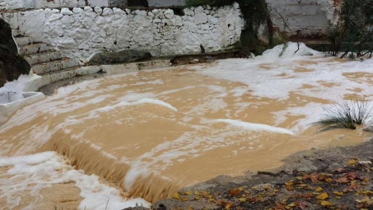 Las imágenes de la lluvia en Buñol